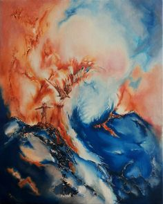 Title: Human And Divine -Original fine art oil painting on stretched canvas. Size: Size: 15 x 19 x the canvas is inch deep. Free Canvas, Art Camp, Coordinating Colors, Stretched Canvas, Art Oil, Canvas Size, Original Paintings, My Arts, Deep