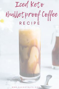 So excited to share this life changing Iced Keto Bulletproof Coffee Recipe! Iced Keto Bulletproof Coffee Recipe - So excited to share this life changing Iced Keto Bulletproof Coffee Recipe! - She Got Guts Diet Plan Menu, Keto Diet Plan, Ketogenic Diet, Smoothie Prep, Smoothie Recipes, Diabetic Smoothies, Drink Recipes, Avocado Smoothie, Cake Recipes