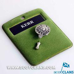 Kerr Clan Crest Tie