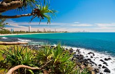 Beautiful Burleigh Heads on the Gold Coast. Where my family calls home :) #GoldCoast #BurleighHeads