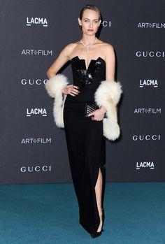 "Amber Valletta au gala ""LACMA Art + Film"" à Los Angeles"