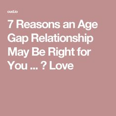 3 year age gap dating