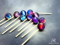 These Galaxy Lollipops are a truly cosmic experience for fans of astronomy or anybody with a sweet tooth and are available in nine different flavors.