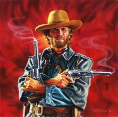 The outlaw Josey Wales - Clint Eastwood - 1976