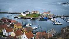 Fjällbacka vue d'en haut port River, Outdoor, Jet Lag, Pontoons, Aurora Borealis, Archipelago, Top, Landscape, Outdoors