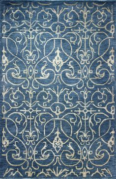 Chic hand tufted rugs for sale, at Hadinger Area Rug Gallery! (Nationwide shipping available.) A18Z R129-HG305 Azure