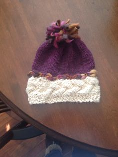 Wool, cotton child's hat