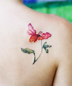 26 Gorgeous Watercolor Tattoos That Speak to Your Artsy Side