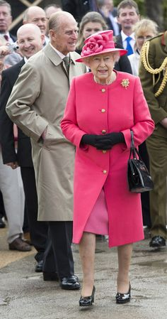 Queen Elizabeth II and Prince Philip, Duke of Edinburgh, visit Chester Zoo as part of her tour of the North West on May 17, 2012 in Chester, England. The Queen is visiting many parts of Britain as she celebrates her Diamond Jubilee culminating with a four-day public holiday on June 2-5, including a pageant of 1,000 boats on the River Thames.