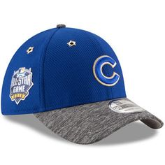 Chicago Cubs Adult New Era Royal 2016 MLB All-Star Game Patch 39THIRTY Flex Hat