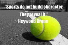 Sports and character