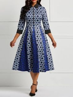 Customary Shweshwe Dresses can be beat whenever of the week, either to task for coincidental Fridays African Wear Dresses, African Attire, African Clothes, African Fashion Designers, African Print Fashion, Africa Fashion, African Traditional Dresses, Colorblock Dress, Women's Fashion Dresses