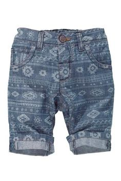 Buy Denim Aztec Print Shorts (3mnths-6yrs) from the Next UK online shop