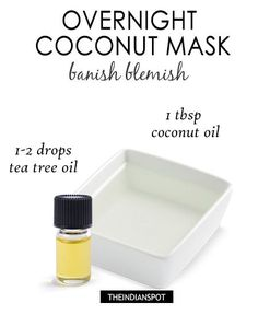 Repair your skin overnight with natural ingredients. These three overnight masks and treatments will leave you with a complexion that looks dewier, younger and healthier overall. Overnight Yogurt  Mask – skin tightening –  Yogurt contains lactic acid, an alpha hydroxy acid, that dissolves dead skin cells which helps to create a natural glow and prevent breakouts. you will need :  organic