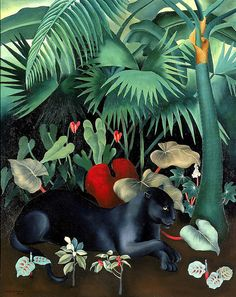 Alice Dinneen: Black Panther, 1934