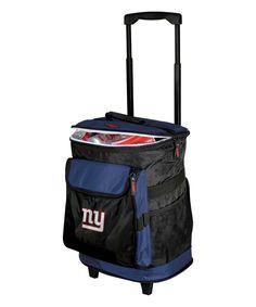 New York Giants Rolling Cooler