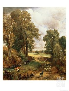 The Cornfield, 1826 Giclee Print by John Constable at Art.co.uk