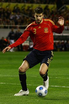 Spain soccer team - Gerard Pique