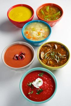 Chilled soups for summer