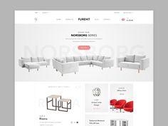 Furniture Shop - Website