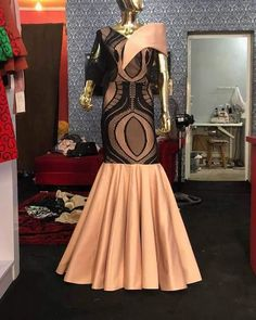 African Maxi Dresses, African Attire, African Wear, African Blouses, African Lace, King Fashion, Africa Fashion, Fashion Prints, Green Dress