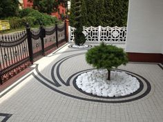 Rain and snow are going to play a huge part in your yard landscaping decisions. For example you will have to plan for your yard landscaping with care. These yard lan Modern Landscape Design, Landscape Plans, Modern Landscaping, Outdoor Landscaping, Front Yard Landscaping, Backyard Landscaping, Landscape Architecture, Landscaping Ideas, Backyard Ideas