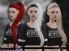 Sims 4 CC's - The Best: LeahLillith Kyoto Hair