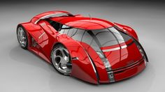 Futuristic 2012 UBO Concept Car