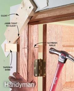 How To Hang An Inside Door