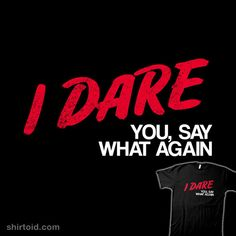 I Dare You #dare #film #juleswinnfield #movie #ntesign #pulpfiction #typographic