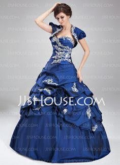 Quinceanera Dresses - $190.99 - Ball-Gown Sweetheart Floor-Length Taffeta Quinceanera Dress With Ruffle Lace Beading (021004677) http://jjshouse.com/Ball-Gown-Sweetheart-Floor-Length-Taffeta-Quinceanera-Dress-With-Ruffle-Lace-Beading-021004677-g4677
