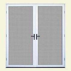Bug off instant screen door with magnetic closure for a for Bug off instant screen door