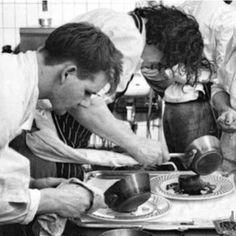 Men at work- Marco Pierre White and Gordon Ramsay