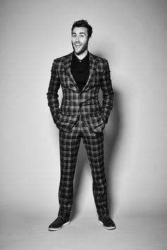 Can I please go to Prom with a guy in a plaid suit? (Preferably, this guy would be Matthew Lewis.)