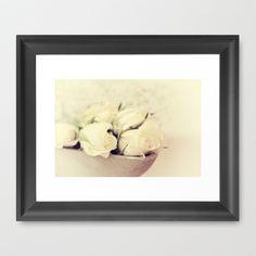 Romantique Framed Art Print by Tine ✿ NOVEMBERKIND - $33.00