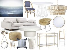 Vacation Mode | Beach Inspired Interior Design by Merci Marie