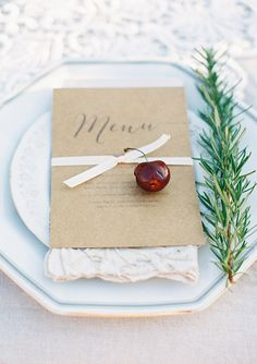 Romantic Wedding Inspiration from Feather and Stone Photography Diy Wedding Planner, Wedding Menu, Wedding Stationary, Wedding Ideas, Wedding Photos, Wedding Table Settings, Wedding Reception Decorations, Wedding Centerpieces, Decor Wedding