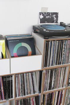 LP-Aufbewahrung #schallplattenregal #stocubo
