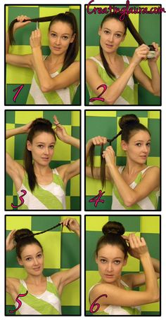 Creating Laura: Sock Bun tutorials - great for long hair!