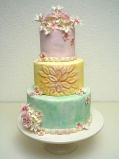 ¡Hermoso pastel!