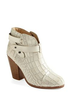 rag & bone 'Harrow' Bootie available at #Nordstrom i just love these. bootie addict