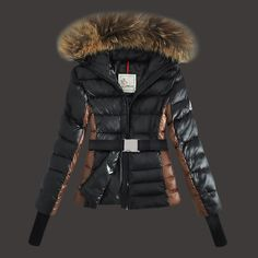 coats with fur hoods for womens - Google Search