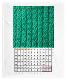 No name pattern, but chatt is given Loom Knitting, Knitting Stitches, Free Knitting, Crochet Stitches Patterns, Stitch Patterns, Knitting Patterns, Simply Knitting, How To Start Knitting, Tunisian Crochet