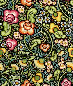 Bohemian garden pattern - Google Search