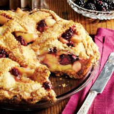 Best Apple Pie Recipes: Blackberry-Apple Pie