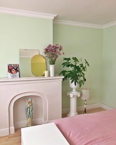 Deco Pastel, Pastel Room, Decoration Inspiration, Room Inspiration, Decor Ideas, Room Ideas Bedroom, Bedroom Decor, Home Interior, Interior Design