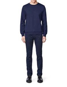 Hubertz sweatshirt-Men's sweatshirt in French terry. rib at cuffs, neck and bottom hem. Men's Sweatshirts, Tiger Of Sweden, French Terry, Cuffs, Sweatpants, Fitness, Fashion, Moda, Fashion Styles