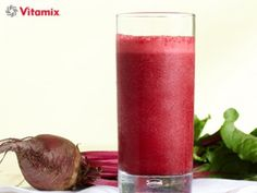 Vitamix Sweet Beet, Strawberry & Cranberry Smoothie