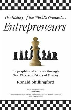 MINI BOOK - The History of the World's Greatest Black Entrepreneurs by Ron Shillingford. $3.39. Publisher: The History of the World's Greatest Entrepreneurs... (December 3, 2010). 73 pages