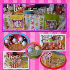 This is the theme Tiarnee is having for Iylahs 1st birthday. La La Loopsy very cute Tiarnee!!!!